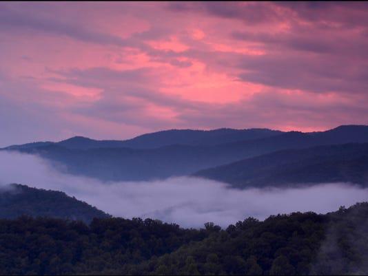 Cherokee sunset 1