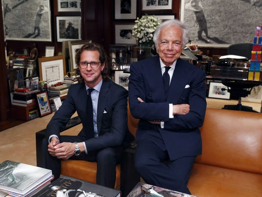 AP RALPH LAUREN NEW CEO F A USA NY