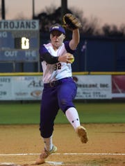 ASH senior Carrie Boswell made the LSWA Class 5A softball team as a pitcher.