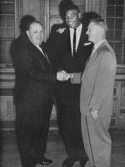 In 1956, Richmond native Lamar Lundy received Purdue's