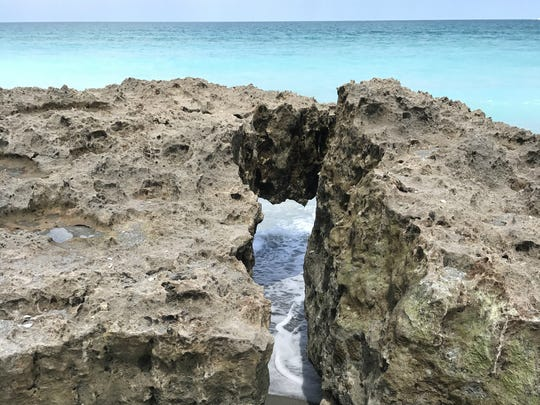 Blowing Rocks is a 73-acre preserve on Jupiter Island