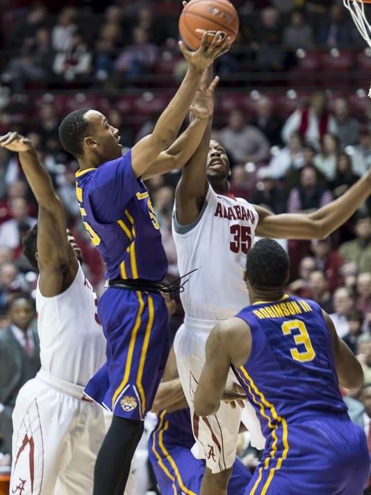 Alabama Basketball G18 vs LSU