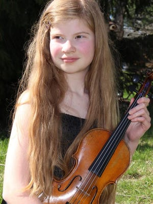 Violinist Sophia Werner performs Saturday with the Binghamton Community Orchestra.