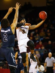 Central Michigan guard Marcus Keene has scored 30 or more points 15 times this season.