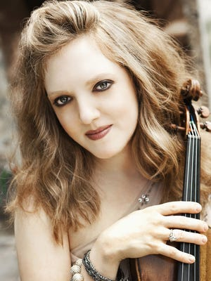 Rachel Barton Pine will perform in Oak Ridge on April 1 and 2.
