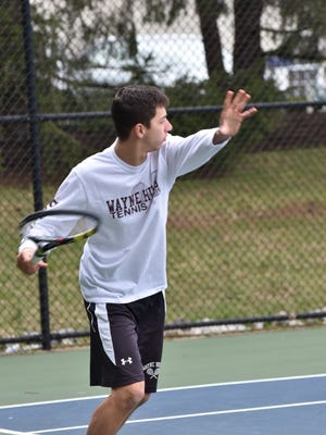 Wayne Hills' senior Jake Goldberg prepares to win again in the Passaic County tournament.