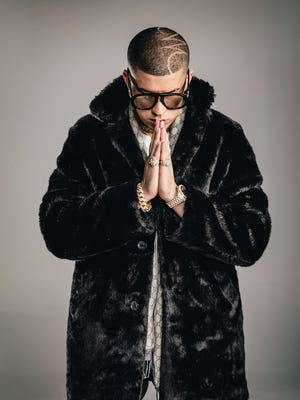 The Latin rapper Bad Bunny performed in March at the El Paso County Coliseum. He is returning to the border with a performance in Juarez.