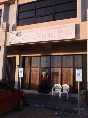 Chung Gi Wa upper tumon closed after recieving a D rating