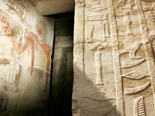 AP EGYPT ANCIENT TOMB I EGY