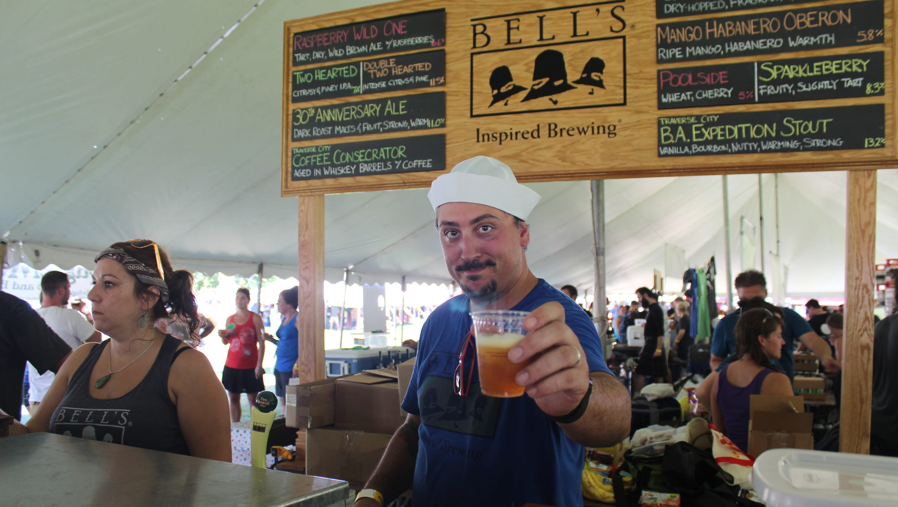 Is michigan craft beer at apex of its golden age for Michigan craft beer festival
