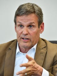Williamson County businessman Bill Lee is joining the