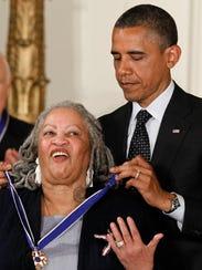 President Barack Obama awards the Medal of Freedom