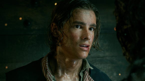 Like most people, Henry (Brenton Thwaites) is freaked out when he meets a deadly ghost pirate.