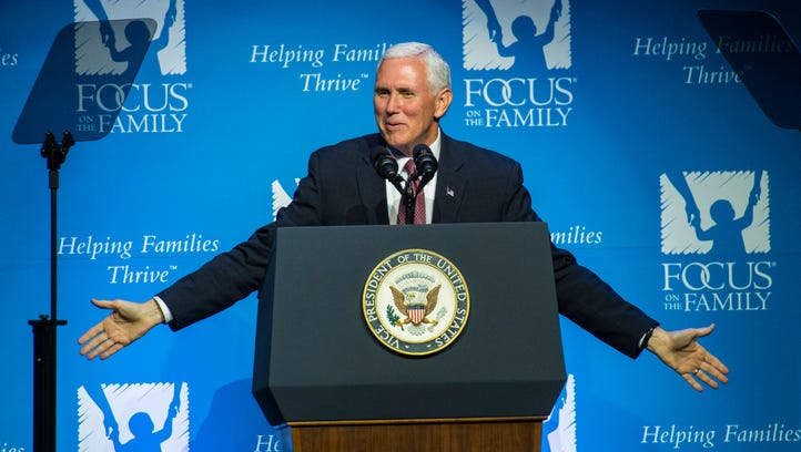 Vice President Pence speaks at Focus on the Family's
