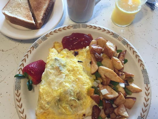 Country Omelet with potatoes