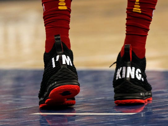 April 9: LeBron James, Nike