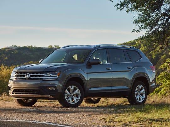 The 2019 Volkswagen Atlas.