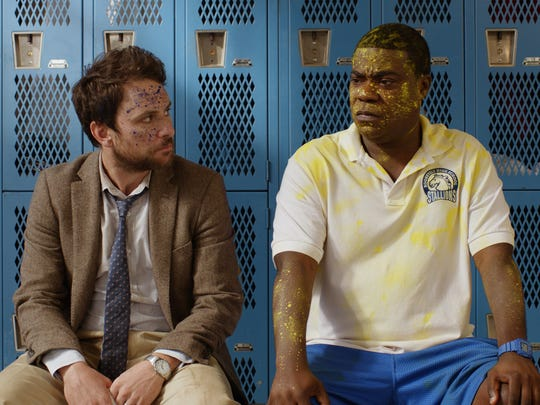 Two schoolteachers (Charlie Day and Ice Cube) battle