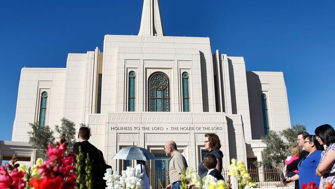 The Gilbert Arizona Temple of the Church of Jesus Christ of Latter-day Saints was formally dedicated on March 2, 2014. It was the 4th Temple completed in the state.