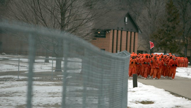 Dept. of Correction's Special Alternative Incarceration Cassidy Lake Facility in Chelsea, Mich.