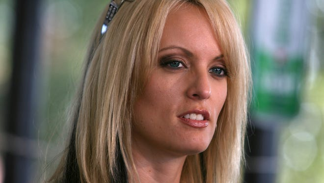 Stormy Daniels in July 2009 at Rooster's Country Bar in Delhi, La.