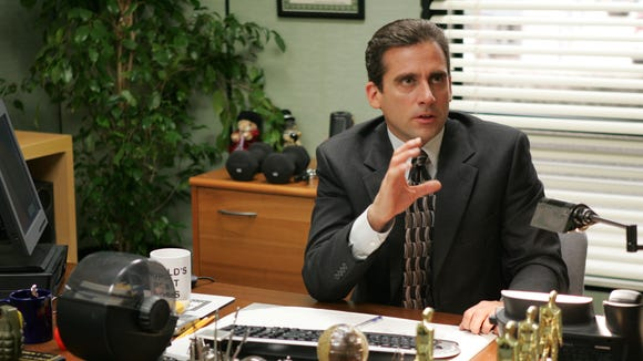 """Before he was a """"serious actor,"""" Steve Carell starred as Michael Scott on NBC's sitcom """"The Office."""""""