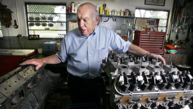 Bill Spoerle bought and refurbished Jim Clark's 1963 engine that was used to finish second in Clark's rookie Indianapolis 500.