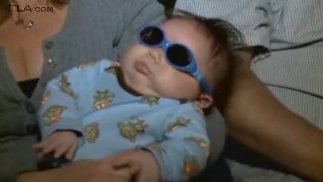 Richie Lopez was born without eyes in Arizona. Kelly Lopez gave birth to Richie three months ago. An MRI test 13 days later indicated that Richie Lopez had been born without any eyes.