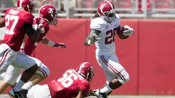 Former Alabama running back Altee Tenpenny died in a car accident Tuesday
