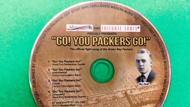 A new recording of the Packers' 1931 fight song featuring Green Bay quartet Vocal Fury has just been released.