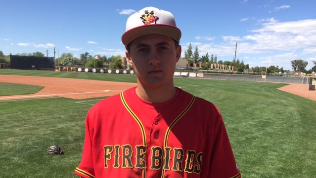 Scottsdale Chaparral junior Gianni Tomasi is a two-sport athlete who will have a difficult decision to make after this baseball season.