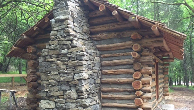 Bledsoe Creek State Park is home to an 18th century cabin that will serve as an interpretation facility.