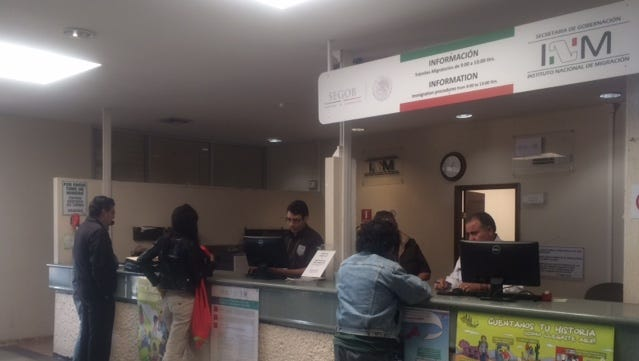 Mexico is ready to receive Central Americans who travel through Mexico to get to their home countries, officials said.