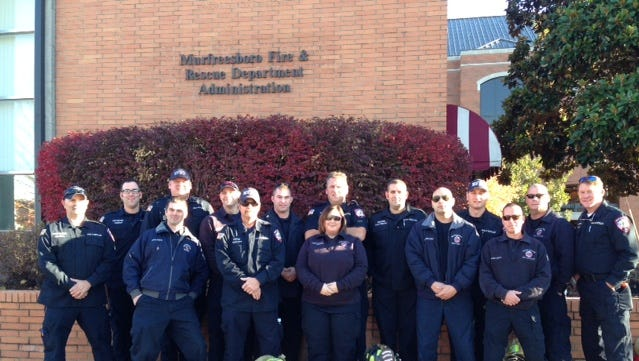 A third team of Murfreesboro firefighters deployed to assist in Gatlinburg Friday morning.