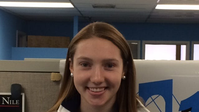Ursuline forward Katherine McLoughlin is the Con Edison Athlete of the Week