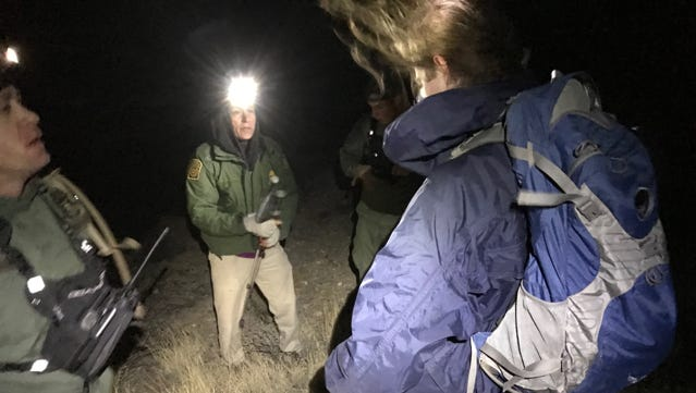 U.S. Border Patrol agents rescued two hikers who got lost in the Franklin Mountains over the holiday weekend.
