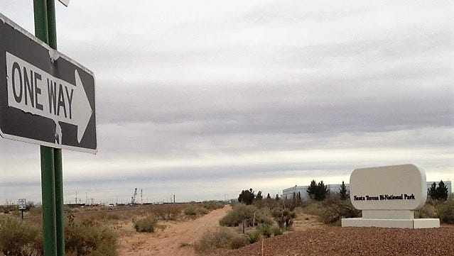 Vacant land in the Santa Teresa Border Industrial Park, shown here, is part of the 2,200 acres of land recently purchased by El Paso businessman Lane Gaddy's investors group.