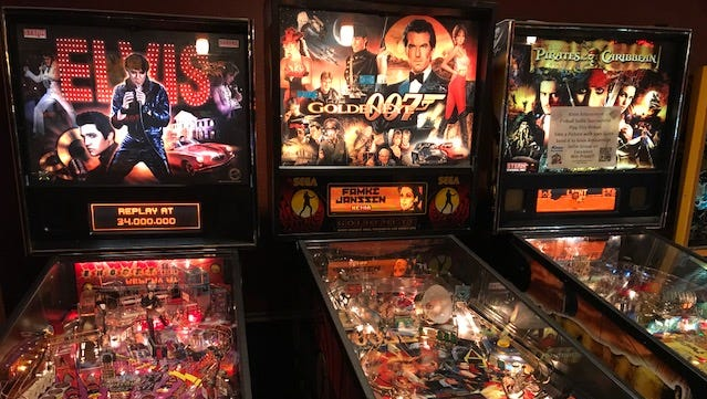 The Upstate New York Pinball Competition runs to approximately 8 p.m. Saturday at the Silverball Saloon, 135 W. Commercial St., East Rochester.