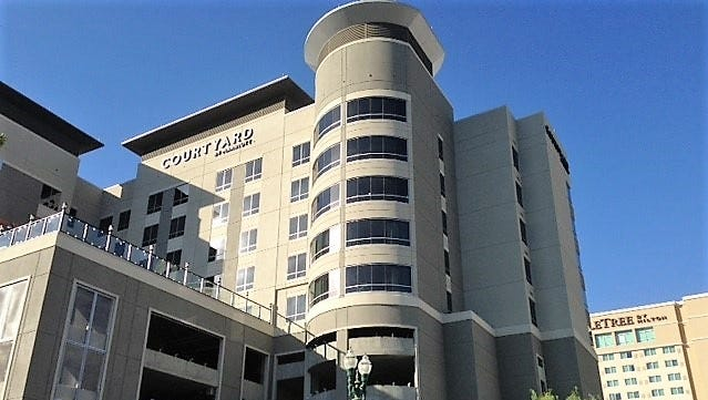 The Courtyard by Marriott Hotel is opening in Downtown El Paso.