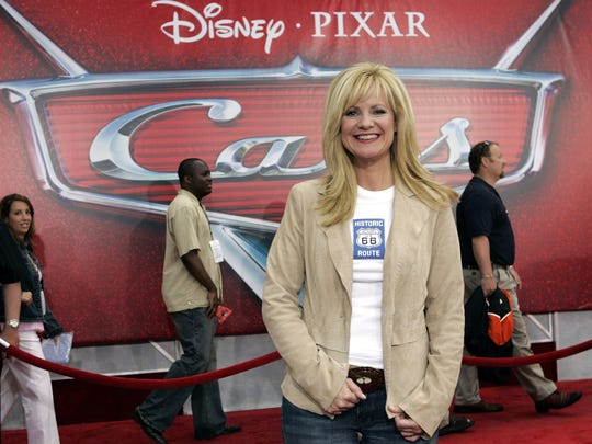 "Bonnie Hunt was the voice of ""Sally"" in the 2006 Disney/Pixar animated film ""Cars."""