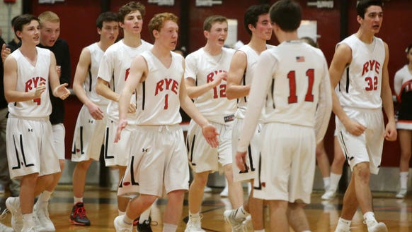 Rye is the No. 1 seed in Section 1's Class A boys basketball tournament after finishing the regular season 17-3.