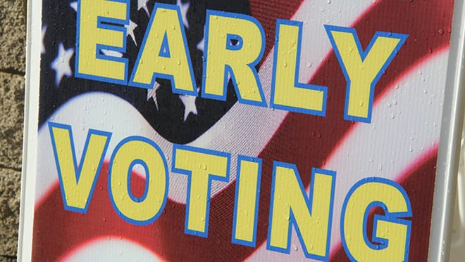 Early voting for the Nov. 8, 2016, election is underway. Tennessee Secretary of State Tre Hargett and Coordinator of Elections Mark Goins are encouraging Tennesseans to take advantage of this opportunity to avoid lines on Election Day. Early voting will continue on weekdays and Saturdays and will end Nov. 3.