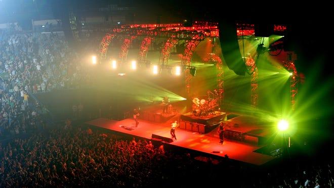 Rock band 311 will perform July 4 at the Pavilion at Pan Am Plaza.