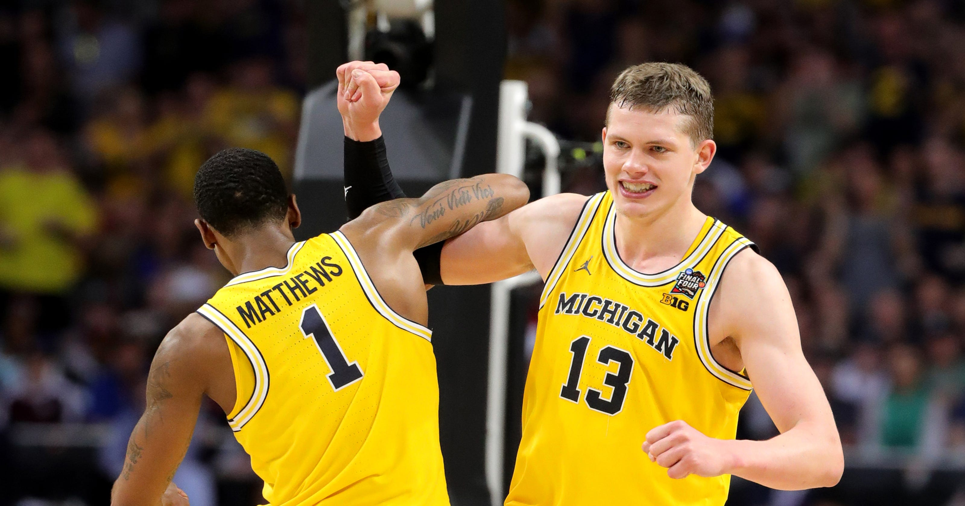 66b4d90ab79 Michigan s Moritz Wagner wouldn t be denied in Final Four win over Loyola