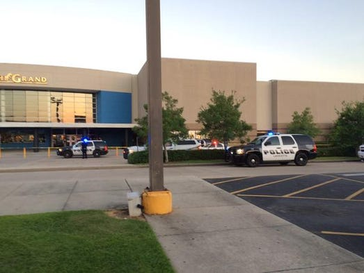 Police responding to an apparent shooting a the Grand