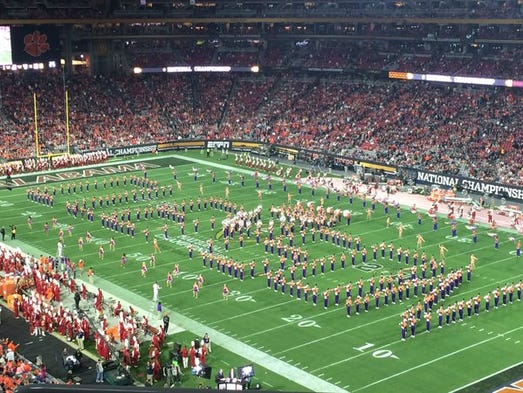 collefe football lines college football national championship halftime show