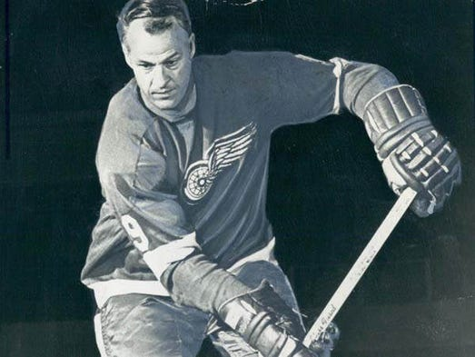 Gordie Howe, Detroit Red Wings 1969-1970.