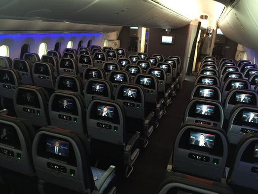 American Airlines Shows Off Its New Boeing 787 Dreamliner