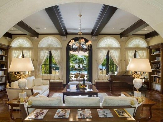 15 of the most expensive vacation rentals in the usa for Living room 15 x 18