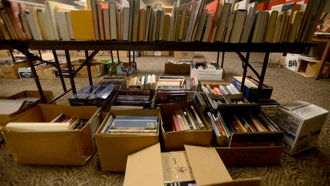 The Jackson-Madison County Library will hold a book sale for the public starting Friday. The sale will be open for teachers today and from 10-4 Friday and Saturday; 1-5 Sunday.